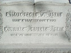 Annie Laurie <i>Smith</i> Ham