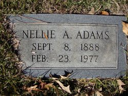 Nellie A. Adams