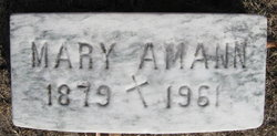 Mary <i>Hussey</i> Amann