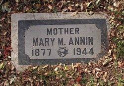 Mary <i>Sparks</i> Annin