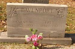Sarah Marintha <i>Harper</i> Davenport
