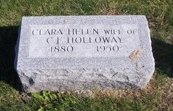 Clara Helen <i>Robinson</i> Holloway/Bailey