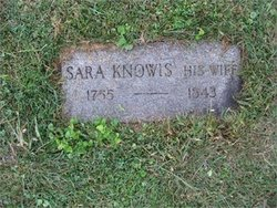 Sarah <i>Knowis or Knowles</i> Doudna