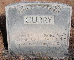 Frances Alice <i>Cornwell</i> Curry