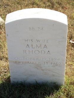 Alma Rhoda Langston