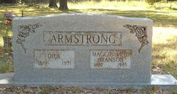 Maggie Jane <i>Branson</i> Armstrong