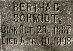 Bertha C. Schmidt