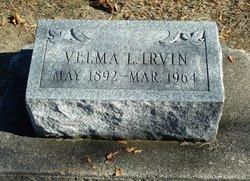 Velma L <i>Thomas</i> Irvin
