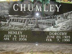 Dorothy Katherine <i>Depew</i> Chumley