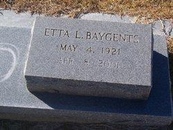 Etta Lee Baygents