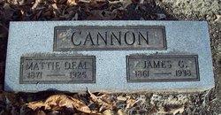 Mattie <i>Deal</i> Cannon