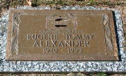 Eugene Thomas Tommy Alexander