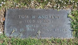 Tom Walter Andrews
