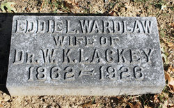 Eddie L. <i>Wardlaw</i> Lackey