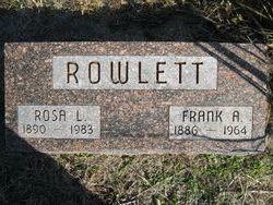Rosa Lee <i>Ray</i> Rowlett