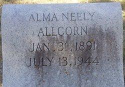 Alma Ophelia <i>Neely</i> Allcorn