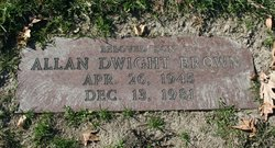 Allan Dwight Brown
