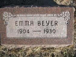 Emma E Wilhelmina Beyer