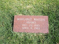 Margaret E <i>Whiteis</i> Adams
