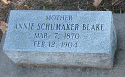 Annie S. <i>Schumaker</i> Blake