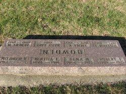 Alma Mabel Bowden