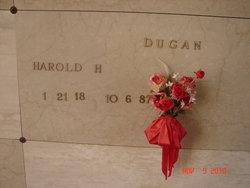 Harold Harry Dugan