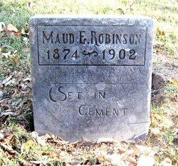 Maud E Robinson