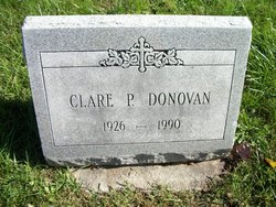 Clare P Donovan