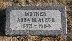 Anna Mary <i>Birks</i> Aleck
