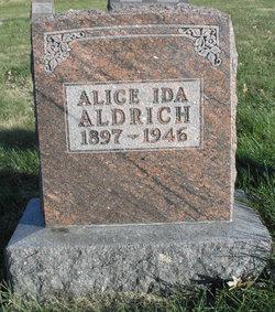 Alice Ida <i>Biggerstaff</i> Aldrich