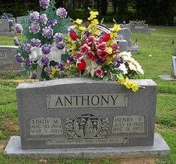 Edith Eva <i>Morris</i> Anthony