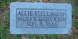 Allie Stell Acker