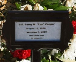 Col Leroy Lee Cooper