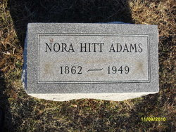Nora Belle <i>Hitt</i> Adams