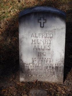 PFC Alfred Henry Alles