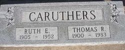 Ruth Esther <i>Zimmerman</i> Caruthers