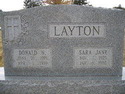 Sara Jane <i>Springmier</i> Layton