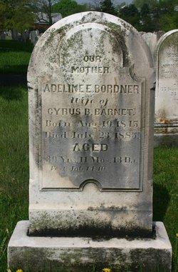 Adeline E. <i>Bordner</i> Barnet