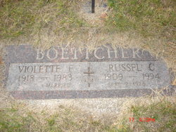 Violette Estella <i>Steenerson</i> Boettcher
