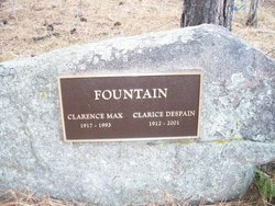 Clarice <i>Despain</i> Fountain