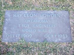 Ray Leon Bowden