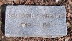 Benjamin S Abrams
