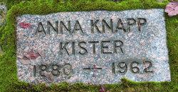 Anna Noma <i>Knapp</i> Kister
