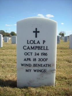Lola Patricia Pat <i>Butts</i> Campbell
