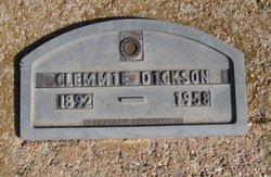 Clementine Clemmie <i>Jackson</i> Dickson