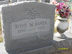 Boyd Marshall Banta