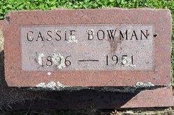 Cassie Bowman