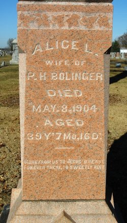 Alice Louisa <i>Farnham</i> Bolinger