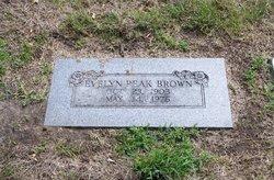 Evelyn <i>Peak</i> Brown