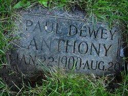 Paul Dewey Anthony